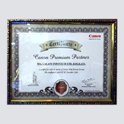 Canon Premium Partner 2014