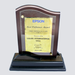 Epson Best Performer Award Inkjet printer & All-in-One 2005