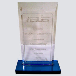 Outstanding Performance Award from ASUS, 2004