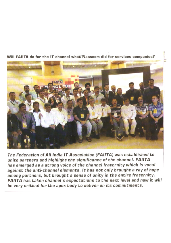 KL Lalani among the members of Federation of All India IT association (FAIITA)