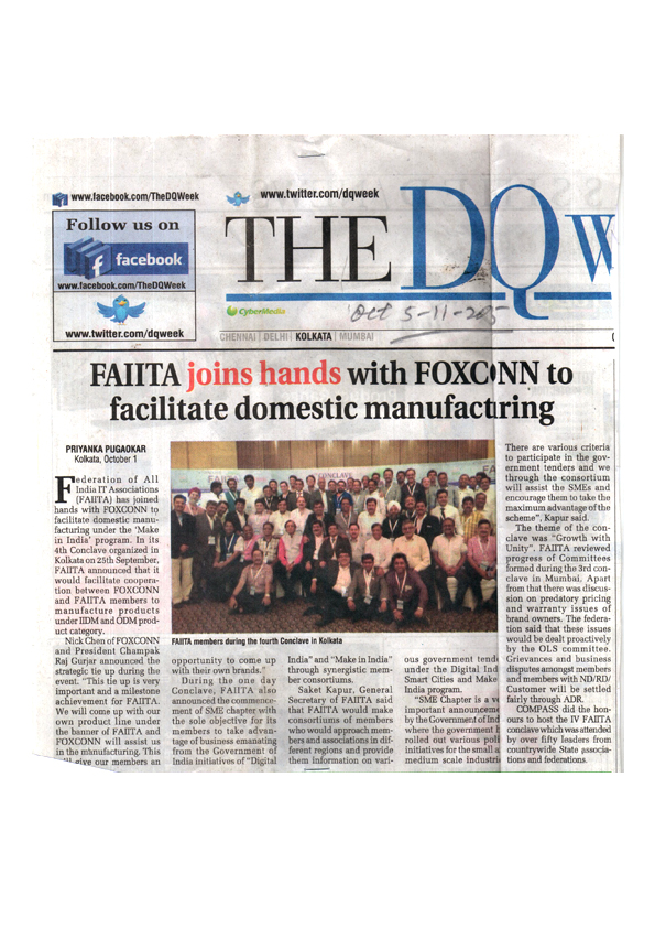 COMPASS hosted the IV FAIITA conclave.