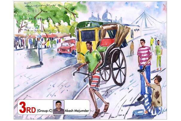 Drawing Competition Group C Second Runner Up are Akash Majumdar